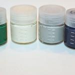 Akrylmaling og cellulose på sprayboks